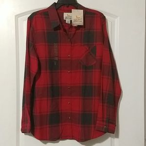 DICKS Women's XL Red and Black Long sleeve Flannel